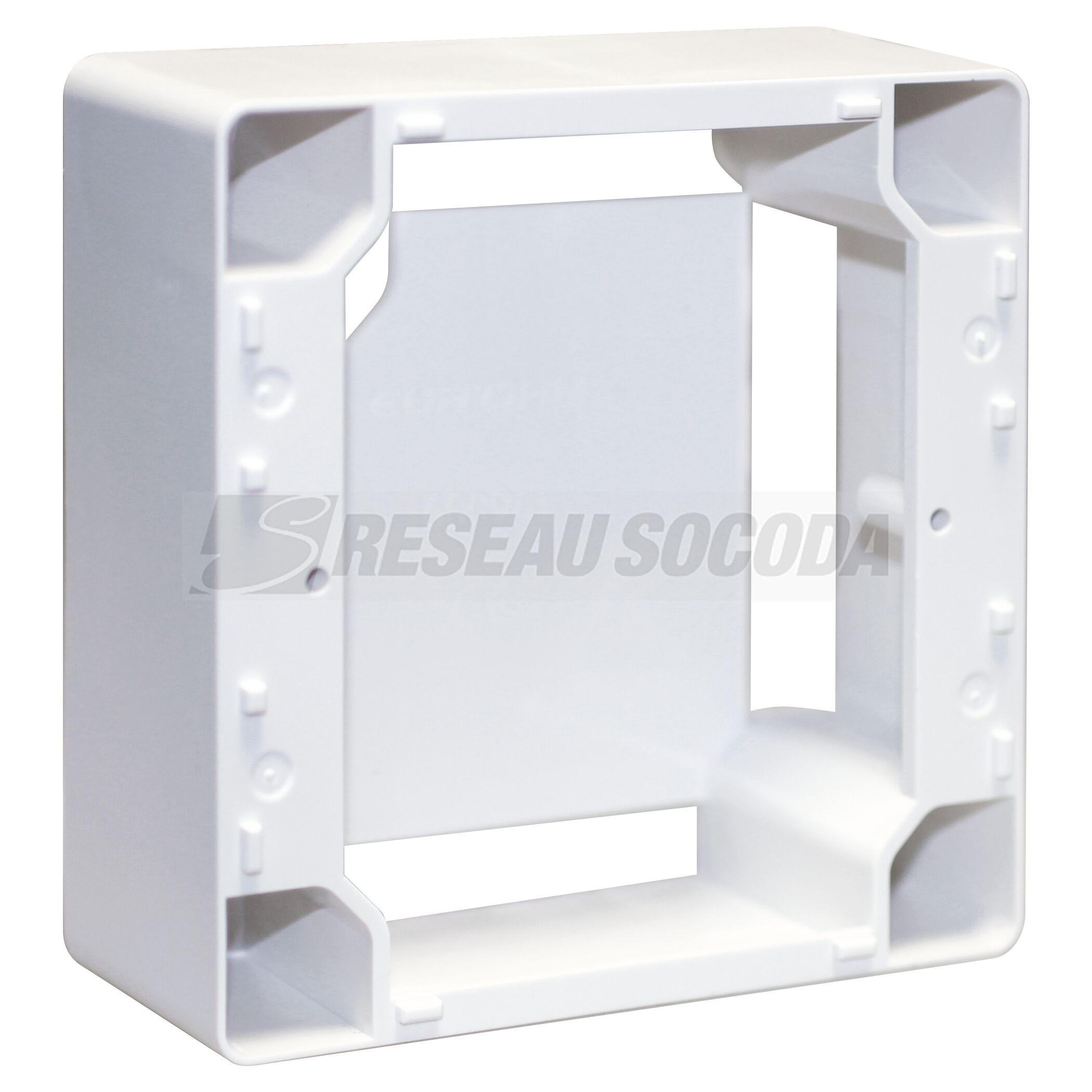 Couleur sonero/® 30 m/ètres 2x4.00mm/² CCA c/âble de Haut-Parleur//c/âble denceinte Blanc